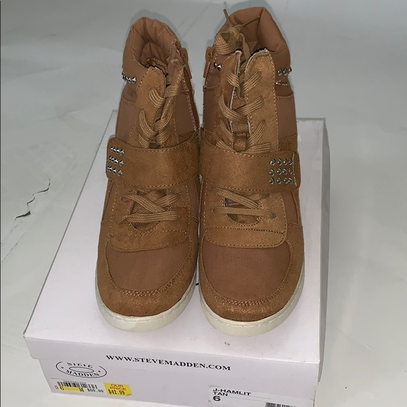 Steve Madden Other - Wedge sneakers for girls